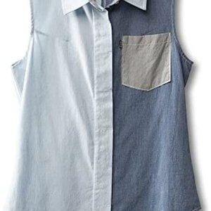 Kavu Jojo Sleeveless Button Up Shirt - Size S
